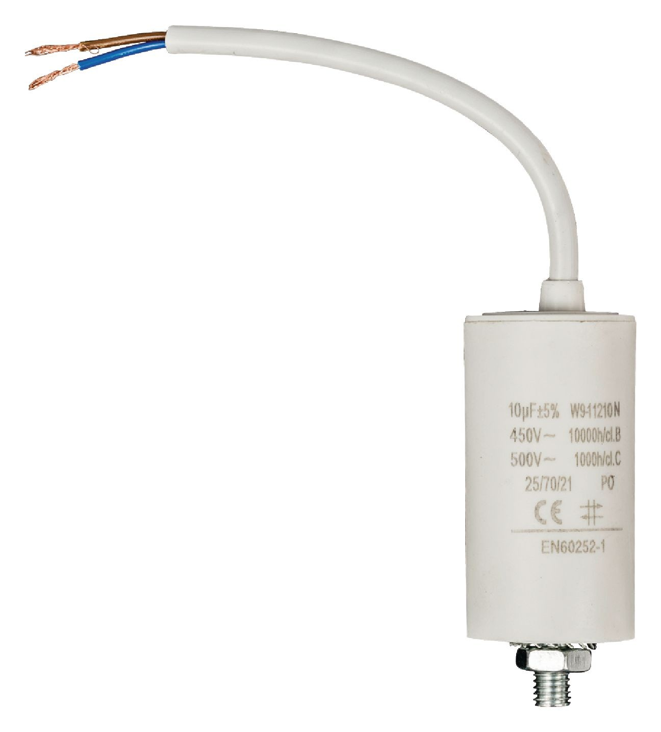 Sotel Starting Capacitor Operating 10uf 10f With Cable How To Wire Run Motor